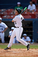 Dartmouth Big Green designated hitter Joe Purritano (3) at bat during a game against the Lehigh Mountain Hawks on March 20, 2016 at Chain of Lakes Stadium in Winter Haven, Florida.  Dartmouth defeated Lehigh 5-4.  (Mike Janes/Four Seam Images)