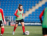 Alethea Paul of Sheffield Utd during the The FA Women's Championship match at the Proact Stadium, Chesterfield. Picture date: 8th December 2019. Picture credit should read: Simon Bellis/Sportimage