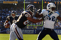 Sept. 17, 2006; San Diego, CA, USA; San Diego Chargers quarterback (6) Charlie Whitehurst runs the ball for a touchdown against the Tennessee Titans at Qualcomm Stadium in San Diego, CA. Mandatory Credit: Mark J. Rebilas