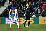 Leganes vs Real Madrid during Nacho Fernandez Copa del Rey  match. A quarter of final go. 20180118.