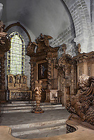 Europe/France/Limousin/23/Creuse/Moutier-d'Ahun : Eglise - Boiserie 1673-1681