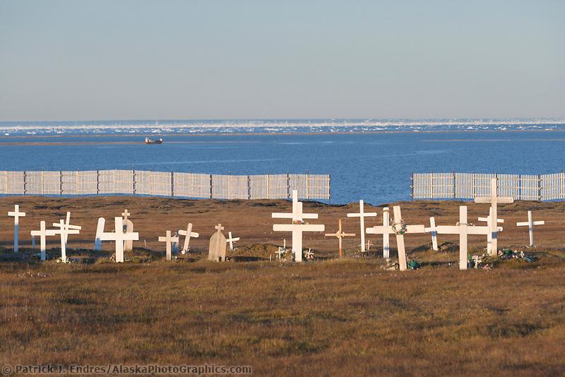 Kaktovik Alaska Map.Cemetery Kaktovik Alaska Alaskaphotographics Com