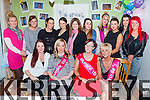 Sisters Michelle and Nicky Stack Ballyspillane who held a joint baby shower on Sunday in Countess Grove front row l-r: Amy Doran, Michelle, Nicky and Geraldine Stack Back Row: Agneas Mausell, Angela Maunsell, Sarah Reen, Donna Bradley, Emma Wright, Chrystal Doran, Sinead Leen, Eileen Leen, Eva Riordan, Amanda Buckley.