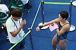 (L-R)  Suei Mabuchi, Minami Itahashi (JPN), <br /> AUGUST 17, 2016 - Diving : <br /> Women's 10m Platform Preliminary Round <br /> at Maria Lenk Aquatic Centre <br /> during the Rio 2016 Olympic Games in Rio de Janeiro, Brazil. <br /> (Photo by Yohei Osada/AFLO SPORT)