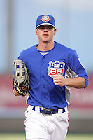 May 26, 2010: Kyle Russell of the Inland Empire 66'ers during game against the Bakersfield Blaze at Arrowhead Credit Union Park in San Bernardino,CA.  Photo by Larry Goren/Four Seam Images