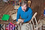 John Dowling who is keeping the art of making sugan chairs alive in Listowel.