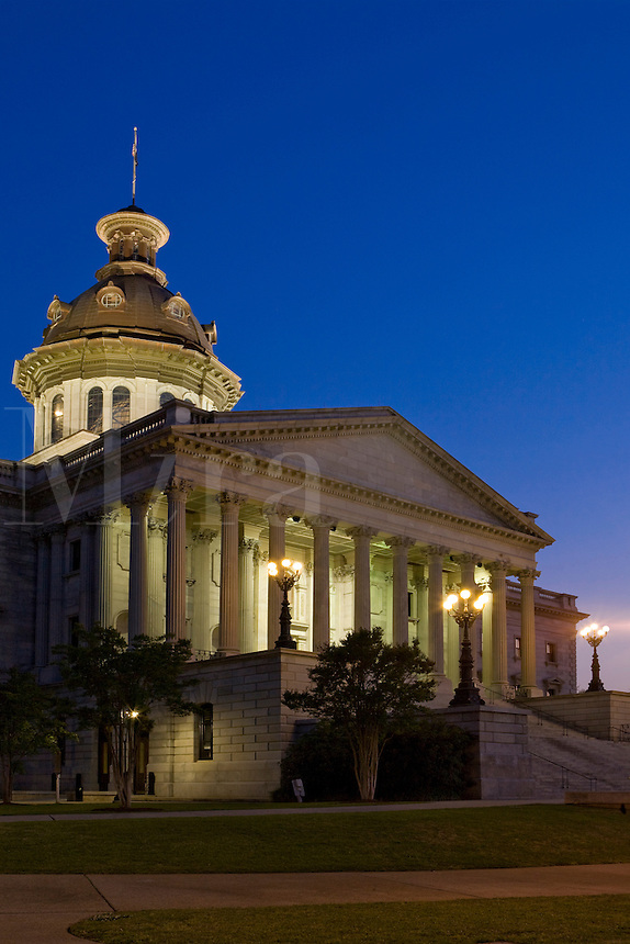 South Carolina State capitol building  Columbia