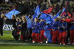 Pre-test entertainment before the first international rugby test at Eden Park, Auckland, New Zealand, Saturday, June 02, 2007. The All Blacks beat France 42-11.