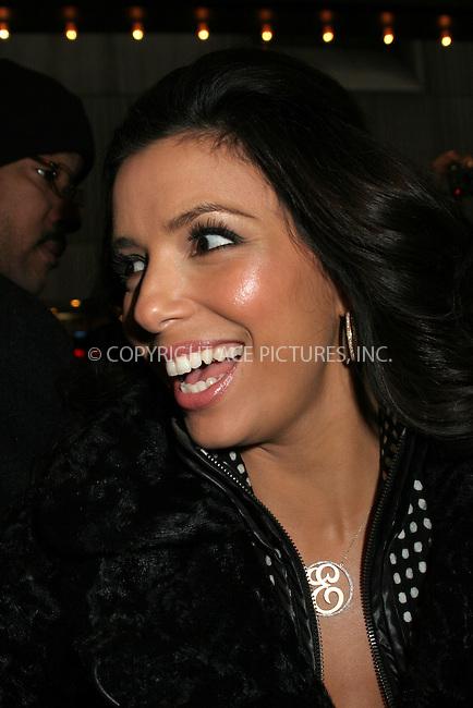WWW.ACEPIXS.COM . . . . .  ....February 13, 2007, New York City. ....Eva Longoria Stops by the MTV's TRL Studios.....Please byline: NANCY RIVERA- ACE PICTURES.... *** ***..Ace Pictures, Inc:  ..Philip Vaughan (212) 243-8787 or (646) 769 0430..e-mail: info@acepixs.com..web: http://www.acepixs.com