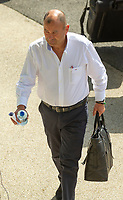 England's Head Coach Eddie Jones arrives at the ground<br /> <br /> Photographer Bob Bradford/CameraSport<br /> <br /> Quilter Internationals - England v Ireland - Saturday August 24th 2019 - Twickenham Stadium - London<br /> <br /> World Copyright © 2019 CameraSport. All rights reserved. 43 Linden Ave. Countesthorpe. Leicester. England. LE8 5PG - Tel: +44 (0) 116 277 4147 - admin@camerasport.com - www.camerasport.com