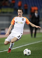 Football Soccer: UEFA Champions League  Round of 16 Second Leg, AS Roma vs FC Shakhtar Donetsk, Stadio Olimpico Rome, Italy, March 13, 2018. <br /> Shakhtar Donetsk's Bohdan Butko in action during the Uefa Champions League football soccer match between AS Roma and FC Shakhtar Donetsk at Rome's Olympic stadium, March 13, 2018.<br /> UPDATE IMAGES PRESS/Isabella Bonotto