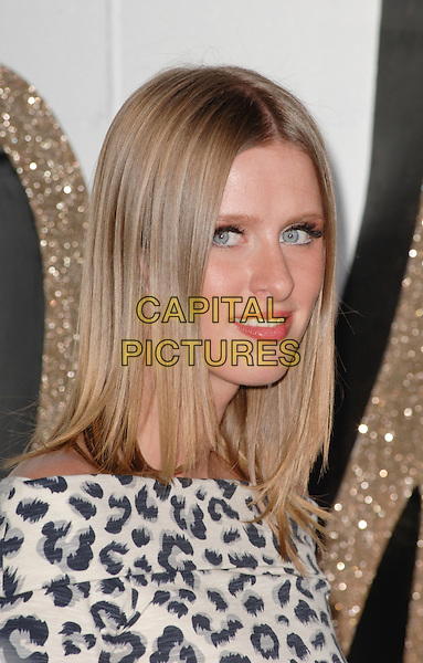 NICKY HILTON .at The Chloe Los Angeles Boutique Opening Celebration held at Milk Studios in Hollywood, California, USA, April 23rd 2009                                                                     .portrait headshot grey gray white animal leopard print off the shoulder .CAP/ROT.©Lee Roth/Roth Stock/Capital Pictures.