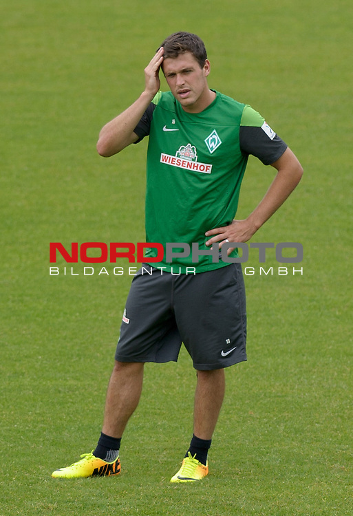 07.08.2013, Trainingsgelaende, Bremen, GER, 1.FBL, Training Werder Bremen, im Bild Zlatko Junuzovic (Bremen #16)<br /> <br /> Foto &copy; nph / Frisch