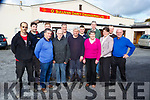 Charlie Doherty Knockinnane West Killarney centre on his last day at work after 51 years at work in O'Sullivan Darcy Engineering on Thursday