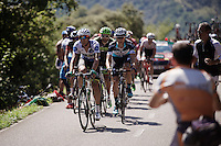 race leaders with a 18-minute lead over the Alta del Tenebro climb.<br /> <br /> stage 16: Luarca - Ermita de Alba<br /> 2015 Vuelta &agrave; Espagna