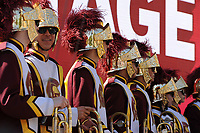 USC Marching Band, at the Los Angeles Times Festival of Books held at USC in Los Angeles, California on Saturday, April 22, 2017