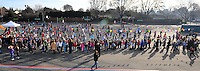 "Walnut Grove Elementary School students particiapate in an attempt to break the Guinness World's Record for ""Most People Jumping Rope at the Same Time"" Monday Feb. 1, 2010 in Pleasanton, California. Schools all over California participated in the record attempt cordinated by The California Association for Health, Physical Education, Recreation and Dance. (Photo by Alan Greth)"