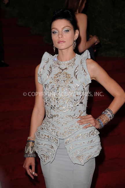 WWW.ACEPIXS.COM . . . . . ....May 7 2012, New York City....Jessica Stam arriving at the 'Schiaparelli And Prada: Impossible Conversations' Costume Institute Gala at the Metropolitan Museum of Art on May 7, 2012 in New York City.....Please byline: KRISTIN CALLAHAN - ACEPIXS.COM.. . . . . . ..Ace Pictures, Inc:  ..(212) 243-8787 or (646) 679 0430..e-mail: picturedesk@acepixs.com..web: http://www.acepixs.com