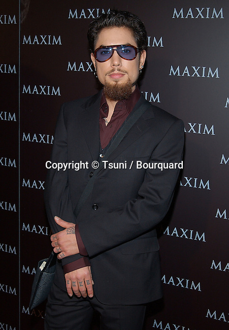 Dave Navarro arriving at the Maxim Magazine- Pussycat Dolls  at the Henry Fonda Theatre in Los Angeles. December 3, 2002.           -            NavarroDave50.jpg