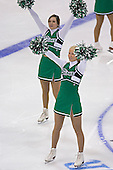 Sioux cheerleaders - The Boston College Eagles defeated the University of North Dakota Fighting Sioux 6-5 on Thursday, April 6, 2006, in the 2006 Frozen Four afternoon Semi-Final at the Bradley Center in Milwaukee, Wisconsin.