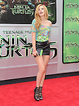 Bella Thorne attends The Paramount Pictures and Nickelodeon Movies Los Angeles premiere of TEENAGE MUTANT NINJA TURTLES at the Regency Village Theater in Westwood, California on August 03,2014                                                                               © 2014 Hollywood Press Agency
