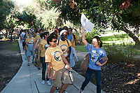 Photo from Occidental College's MLK Day of Service on Saturday, Jan. 28, 2012. Students, staff and alumni volunteered their day to help in the community. (Photo by Marc Campos, Occidental College Photographer)