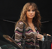 Jennifer Lopez during the shooting The Back-up Plan 2009<br /> Photo By John Barrett/PHOTOlink.net
