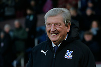 30th November 2019; Turf Moor, Burnley, Lanchashire, England; English Premier League Football, Burnley versus Crystal Palace; Crystal Palace manager Roy Hodgson before the game - Strictly Editorial Use Only. No use with unauthorized audio, video, data, fixture lists, club/league logos or 'live' services. Online in-match use limited to 120 images, no video emulation. No use in betting, games or single club/league/player publications