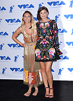 Paris Jackson &amp; Caroline D'Amore in the press room for the 2017 MTV Video Music Awards at The &quot;Fabulous&quot; Forum, Los Angeles, USA 27 Aug. 2017<br /> Picture: Paul Smith/Featureflash/SilverHub 0208 004 5359 sales@silverhubmedia.com
