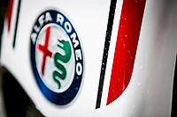 11th July 2020; Styria, Austria; FIA Formula One World Championship 2020, Grand Prix of Styria qualifying sessions;  Technical detail, Alfa Romeo Racing ORLEN, rain drops
