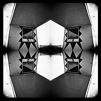 lomographic series - shapes in mirrors  - photo: Francis Rembarz