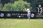 Bradley Dredge teeing off the 13th on day two of the Celtic Manor wales Open 2010.Picture Fran Caffrey/Newsfile.ie