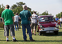 26/07/14 <br /> <br /> Ford Anglia.<br /> <br /> Princess Diana's Mini Metro was the star of the show at the first ever Festival of the Unexceptional.<br /> <br /> The car show held near Silverstone celebrated the best examples of the most ordinary cars of late 1960s to mid-1980s Britain.<br /> <br /> Organisers, Hagerty Insurance, said: &quot;Let&rsquo;s celebrate, preserve and enjoy these threatened and endangered pieces of our beige, brown and plaid automotive heritage.<br /> <br />  &quot;There are twice as many Ferraris on the road in the UK than Austin Allegros! We&rsquo;ve brought together the 50 best examples of a wide range of models - an award of dubious value will go to the overall winner.&quot;<br /> <br /> Princess Diana's red 1980 Mini Metro L was photographed many times while she was dating Prince Charles and was affectionately known as the 'courting car'. It has had three owners since it left the Royal fleet, and has clocked-up a very modest 30,000 miles. <br /> <br /> <br /> All Rights Reserved - F Stop Press.  www.fstoppress.com. Tel: +44 (0)1335 300098