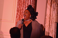 October 27, 2011  (Washington, DC)  American opera soprano Jessye Norman sang America the Beautiful before an audience at the 50th Anniversary of the Diplomatic Reception Rooms at the U.S. State Department.  She has received five Grammy awards and a 1997 Kennedy Center Honor.    (Photo by Don Baxter/Media Images International)