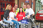 SUPPORTING: Some of the Flynn family who helped out the Flynn Memorial Poker Run in aid of MS Ireland on Saturday in Listowel. l-r: katie and Penny Muvihill (Athea), Aiden,Mary, Johnny and Pat Flynn.... ....