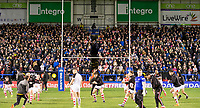 Picture by Allan McKenzie/SWpix.com - 09/03/2018 - Rugby League - Betfred Super League - Warrington Wolves v St Helens - Halliwell Jones Stadium, Warrington, England - GV of St Helens warming up.