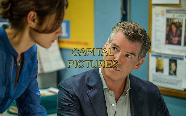 Olga Kurylenko, Pierce Brosnan<br /> in The November Man (2014) <br /> *Filmstill - Editorial Use Only*<br /> CAP/NFS<br /> Image supplied by Capital Pictures
