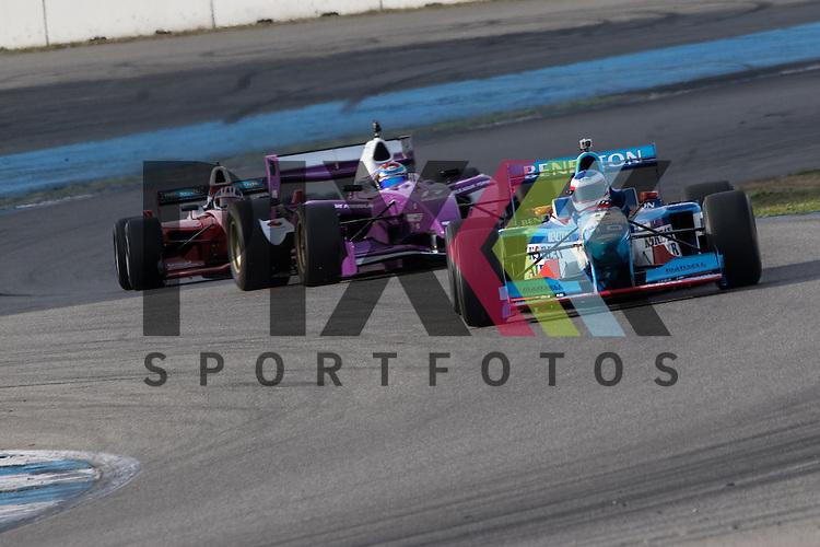 Hockenheim 10.-12. April 2015, BOSCH Hockenheim Historic auf dem Hockenheimring.<br /> <br /> BOSS GP - Frits van Eerd vom Team VES Benetton Racing (Benetton B197 Judd 4.0 V10)<br /> <br /> Foto &copy; P-I-X.org *** Foto ist honorarpflichtig! *** Auf Anfrage in hoeherer Qualitaet/Aufloesung. Belegexemplar erbeten. Veroeffentlichung ausschliesslich fuer journalistisch-publizistische Zwecke. For editorial use only.