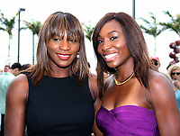 Venus  & Serena Williams<br /> 2010 <br /> Photo By JR Davis/CelebrityArchaeology.com