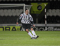 Anton Brady in the St Mirren v Dundee Clydesdale Bank Scottish Premier League Under 20 match played at St Mirren Park, Paisley on 14.1.13..