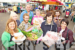 MARKET: Some of the stall holders selling their wares at the weekly Listowel Farmers Market last Friday, including front l-r: Pauline Finucane, Donal Murtagh, Caroline Rigney, Hilary Egan (Chairperson). Back l-r: Joanna Watkins, Steve Baker, Ella O'Sullivan, Eoghan Molloy.