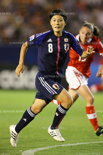 Hikaru Naomoto (JPN), .AUGUST 26, 2012 - Football / Soccer : .FIFA U-20 Women's World Cup Japan 2012, Group A .match between Japan 4-0 Switzerland .at National Stadium, Tokyo, Japan. .(Photo by Daiju Kitamura/AFLO SPORT) [1045]