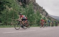 Jens Keukeleire (BEL/Lotto-Soudal)<br /> <br /> Stage 7: Moûtiers > Saint-Gervais Mont Blanc (129km)<br /> 70th Critérium du Dauphiné 2018 (2.UWT)