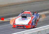 May 20, 2017; Topeka, KS, USA; NHRA funny car driver Robert Hight during qualifying for the Heartland Nationals at Heartland Park Topeka. Mandatory Credit: Mark J. Rebilas-USA TODAY Sports