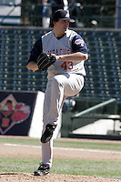 Syracuse Sky Chiefs Ty Taubenheim during an International League game at Frontier Field on April 9, 2006 in Rochester, New York.  (Mike Janes/Four Seam Images)