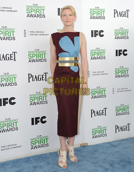 Cate Blanchett attends The 2014 Film Independent Spirit Awards held at Santa Monica Beach in Santa Monica, California on March 01,2014                                                                                <br /> CAP/DVS<br /> &copy;Debbie VanStory/Capital Pictures