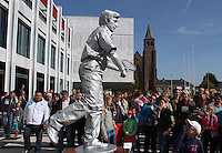 Arnhem, Netherlands : The 8th Annual World Championschip of Living Statues will be held during the World Statues Festival at downtown in Arnhem on 30 September, 2012  - PHOTO/PAULO AMORIM....