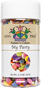 10832 Nature's Colors My Party, Small Jar 2.3 oz, India Tree Storefront