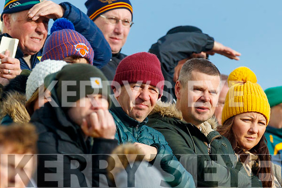 Kerry Manager Peter Keane watches from the stands during the 2020 McGrath Cup Group B match between Kerry and Cork at Austin Stack Park in Tralee, Kerry.