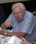 Dick Yarwood, seen attending the retirement party for John Cornell on October 10, 2000. Photo by Jim Peppler. Copyright/Jim Peppler-2000